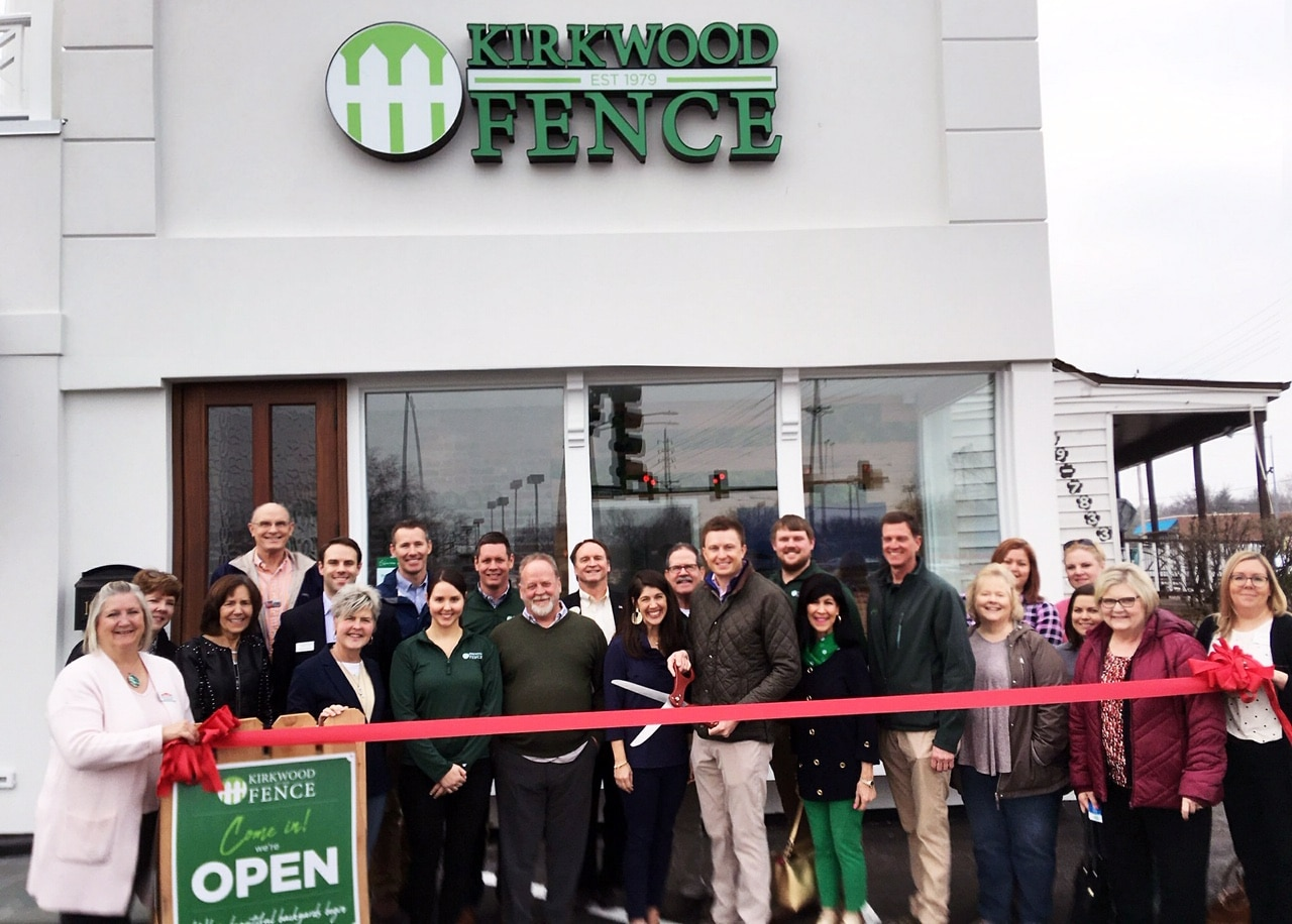 Kirkwood Fence Ribbon Cutting and Grand Opening